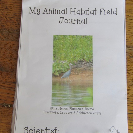 Habitat Field Journal