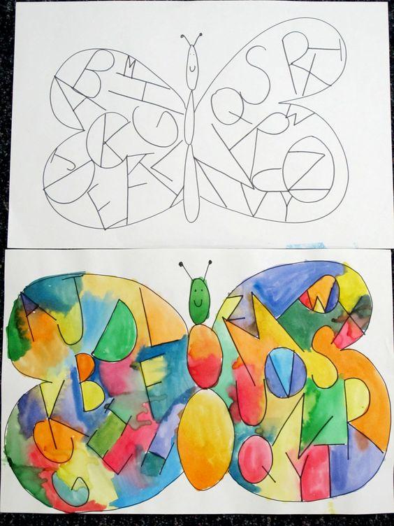 alphabetbutterfly
